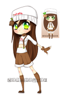 Nutella gijinka [closed] by WTFadopts