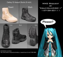 MMD Mall Request : Oakleys.... by CrazyDave55811