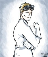 Dr. Horrible doodle by land-walker