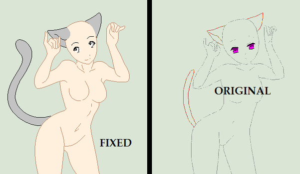 Base Fix - Just Your Average Cat Girl by Shadow-Bases