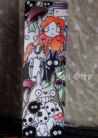 Ghibli AllStars Bookmark by TheKingOfMoths