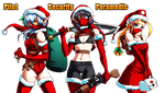 Christmas Elves Squad by Karosu-Maker