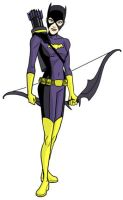 The Batgirl of Gateway City by dennisculver
