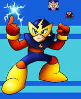 DLN. 008 Elec Man by SonicKnight007