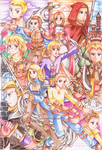 Final Fantasy Tactics: Zodiac Brave Story by Ginryuzaki