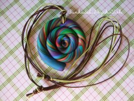 Lollipop Necklace 2 by FunkadelicPsychoFish