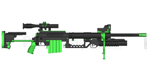 Sniper Rifle by hardcase1