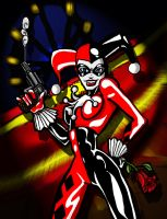 Harley Quinn by CThompsonArt