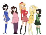 Heathers-The chicks by Amii-stuff