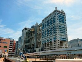 Fuji TV Headquarters by TheBurningWitch