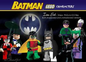 Batman Character Collection by obamagirl