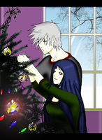 KakaHina_Christmas_Decorating by dream-kingdom