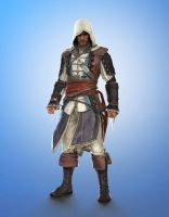 Edward Kenway by LoveStruck2