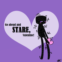 Enderman Valentine by DingoTK