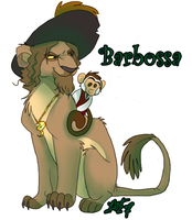 Barbossa Lion by by-blood-undone
