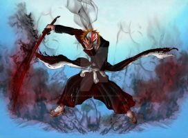 hollow ichigo's power by fullmetalschoettle