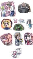 Resident Evil Colorful Spam by Thunder123