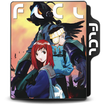 Fooly Cooly (FLCL) Folder Icon Ver. 2 by Maxi94-Cba