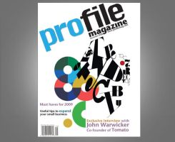 Profile Magazine Cover 1 by ltgustin
