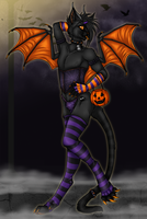 Halloween Boy 2 - WIP by kcravenyote