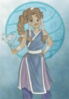 Kaila the waterbender by Istriel