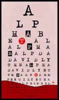 the alphabet by Trafial