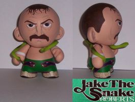 Jake The Snake Roberts munny by Calcifer-Boheme