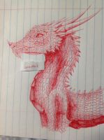Red dragon by Lynxette1