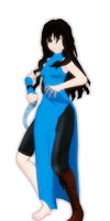 MMD Aqua by Angel-of-Death-7