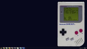 Gameboy Rainmeter Skin v1.0 by Emb3rSil