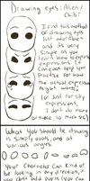 Drawing Tutorial: Alien/chibi eyes by EuchredEuthanasia