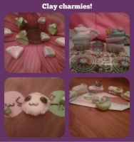 Clay Food Charmies!~ by phoebella