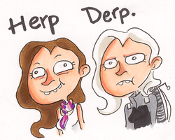 HERP DA DERP by IncenteFalconer