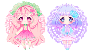 Adoptable Auction  ChuuBabis #1(CLOSED) by Remuchii