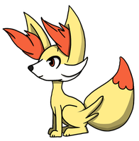 Fennekin by yellowy-yellow