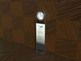 Modern Grandfather Clock r/daily3D #580 by Morichalion