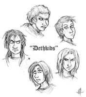 DethKids by darkwater-pirate