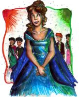 Yule Ball Hermione by bachel60