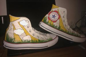 Shoes: Garden by GAME-OVER-CUSTOM