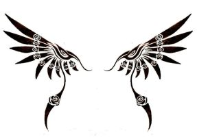 Tribal Wing by jaicy