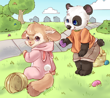 Egg Hunt~! by Commentcritic92