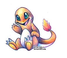 Charmander - Final by riolu
