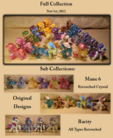 My Little Pony Blind Bags- My Collection by Elyneara