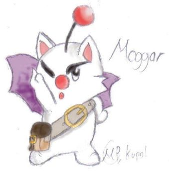 Moggar the Moogle by SwiftStrikerXX