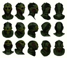 Mass Effect 2, Thane Head Reference. by Troodon80
