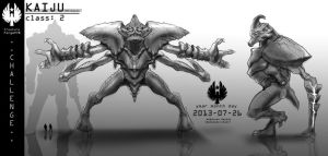 kaiju model sheet CF 78 by boneless-chain