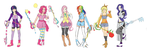 My Little Pony Friendship is Magic Kingdom Hearts by BayneezOne
