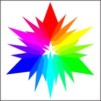 Broken Color Wheel by KelHemp