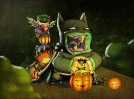 Trick or Treat no border by 2BeanSoup