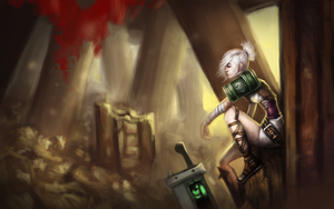Riven - The Exile by yeljaymie